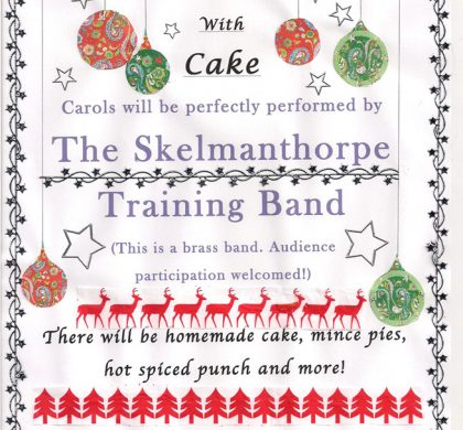Carols with Cake